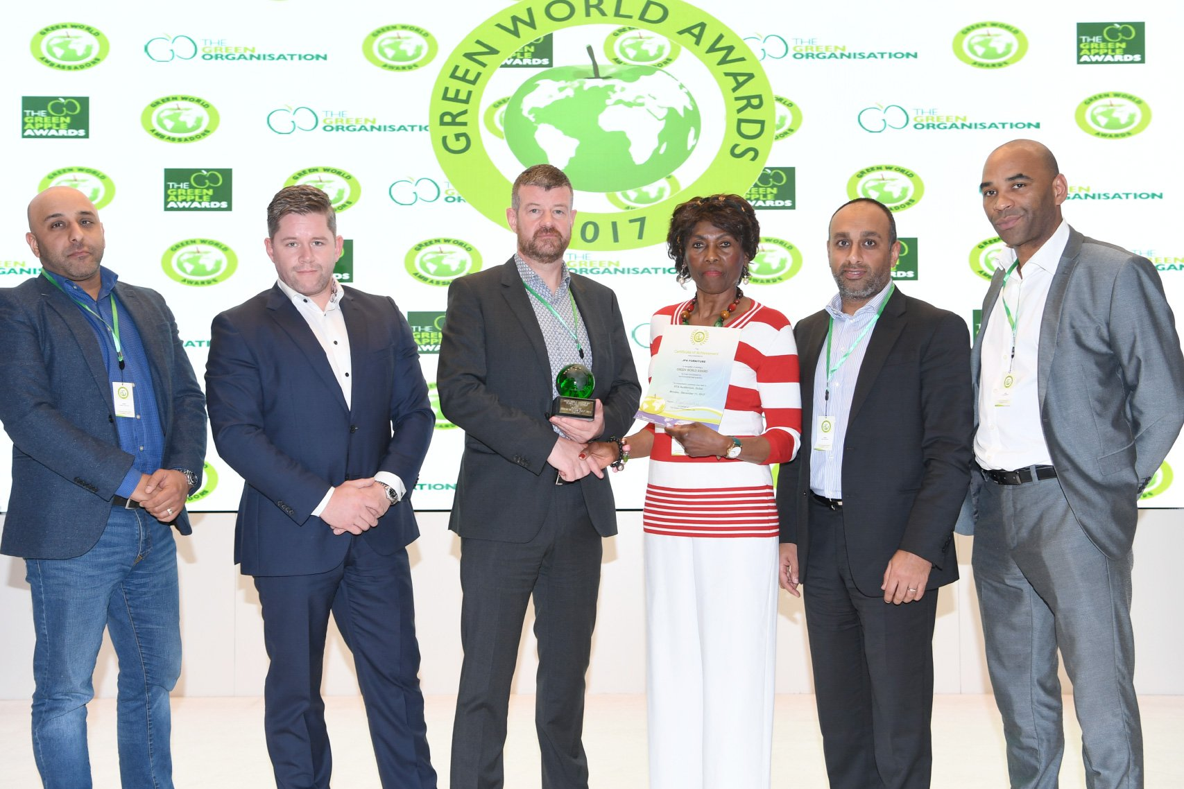 Genuine Solutions Group Wins At Green World Awards In Dubai