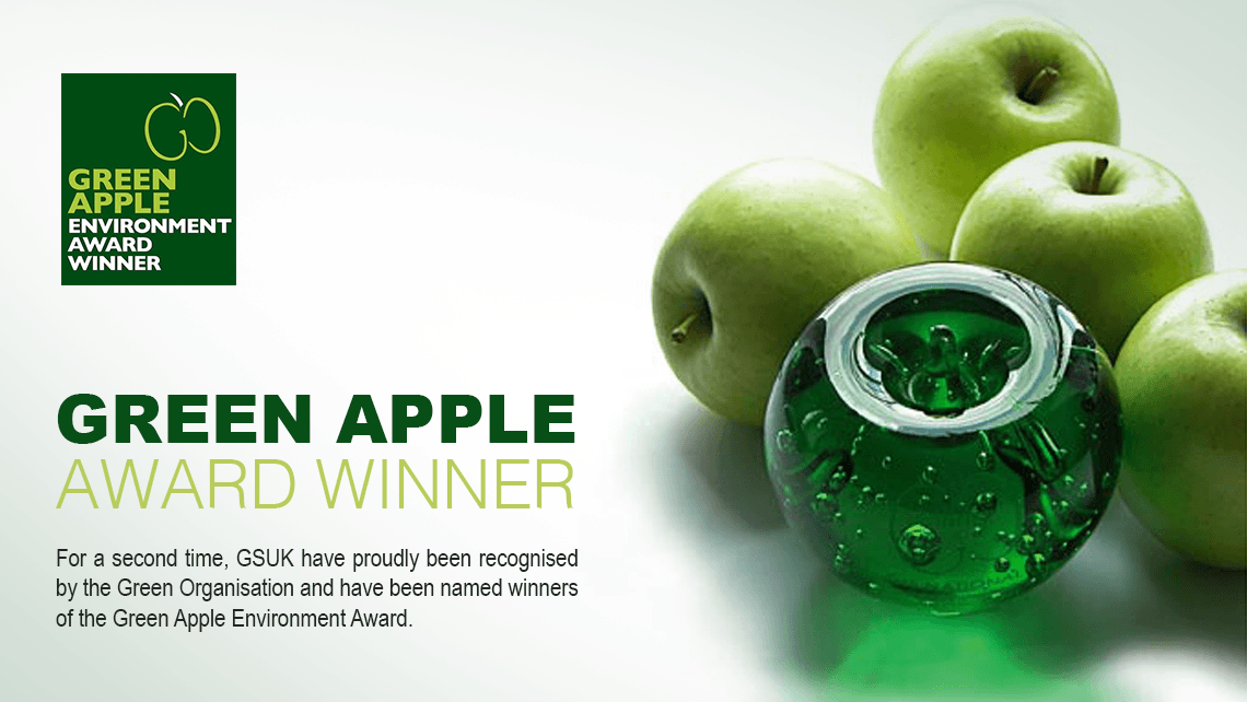 Green Apple Environment Award Winner