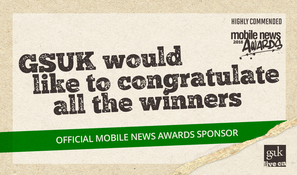 A Successful Night For GSUK At The Mobile News Awards 2018
